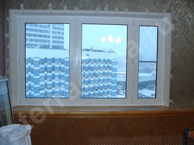Сетка на пластиковое окно своими руками