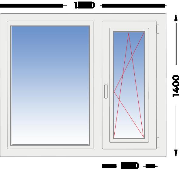 окна пвх в железнодорожном